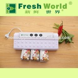 Fresh World Kitchen small appliance vacum sealer, vacuum sealer easy to use