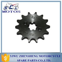 SCL-2013070184 Top quality China motorcycle chain sprocket price cheap for APACHE RTR180 motorcycle part