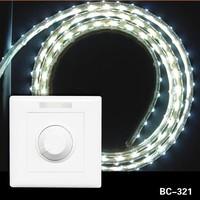 12v 24v single channel wall mounted led panel light dimmer switch
