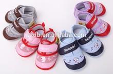 Wholesale kids shoes 2015 fashion cartoon cotton baby toddler shoes