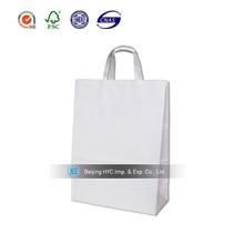 Custom logo biodegradable paper bag take away fast food paper bag