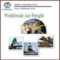 航空貨物中国からマレーシアへ