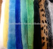 real rex rabbit fur skins material for garment and bags