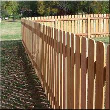 Cedar fence outdoor dog ear pickets wood fence panels