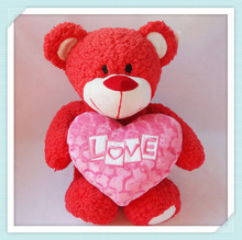 Cute Plush Teddy Bear with heart
