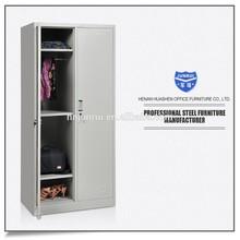 2 door bedroom clothes metal wardrobe closet