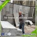 Rápido construcción exterior para fabricar acabado de la pared