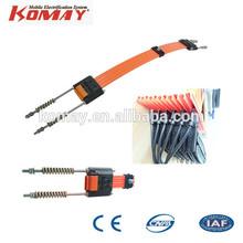 KOMAY Seamless Crane Conductor Rail, High-Tro-Reel Rail System, Conductor Busbar Rail