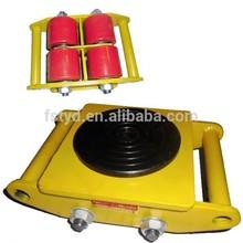 4 ruote 6t fisso direzione 180 gradi di rotazione carico carrello in movimento pattini a rotelle
