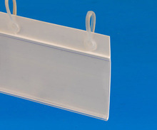 Hanging Plastic Lable Holder/ Price Tag / Data Strip