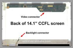 New 1-CCFL 14.1 inch WXGA HSD141PW11-B Cheap Laptops Display Replacement