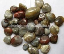 garden tumbled stone pebble ,garden polished stone pebble
