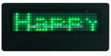 indoor high brightness factory sale 2015 shenzhen mini led sign board B729SG