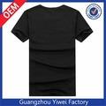 diseño de gran tamaño de algodón hombres camiseta personalizada