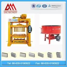 Semi-automatic kerbs making machine, concrete paving block making machine