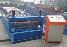 roll machinerys zinc panel corrugate and trapezoid double layer roll forming machine