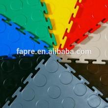 2015 new Gray PVC Multi-Purpose Ventilated pvc vinyl Garage Flooring