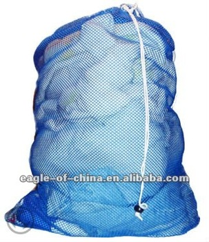 heavy duty nylon mesh hostipal laundry bag