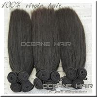 Super quality real virgin hair can be dyed 100% natural human hair straight peruvian hair