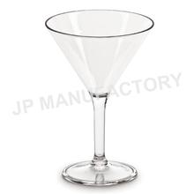 10oz Unbreakable Polycarbonate Stem Martini Glass