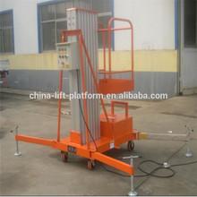 10m electric 1 post lift telescopic man lift