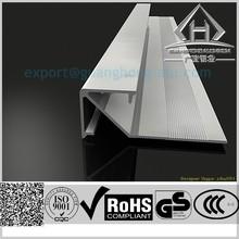 Aluminum wall corner protector