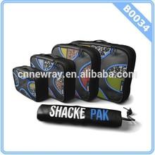 Shacke Pak - 4 Set Packing Cubes - Travel Organizers with Laundry Bag