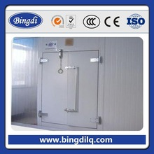 sanwich pu panels sliding door cold storage room for meat and fish