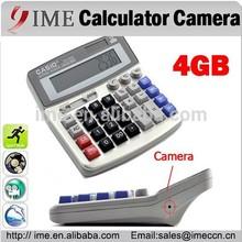 Digital Calculator Spy Cam Built-in 4GB Memory 12 digit display DV DVR 720*480