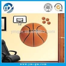 Fashion Basketball Design Wall Decoration Sticker