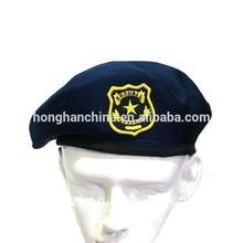 polyester cheap training beret