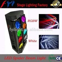 Price DJ equipment 10W beam LED, moving quad LED lighting