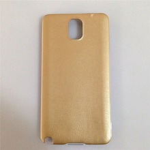 Luxury Smooth PU Ultra Slim Fit Leather TPU Bumper Case for samsung galaxy note 3