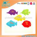 Hq8042 plástico peixes jogo com EN71 padrão para crianças brinquedo