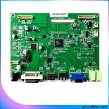 Industrial grade monitor board support screen flip function