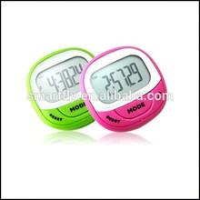 OEM/ODM pedometer 7 Colors 7 Days Memory 2D Pedometer activity tracker