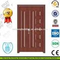 Bon marché de qualité en bois de conception des portes d'entrée principale
