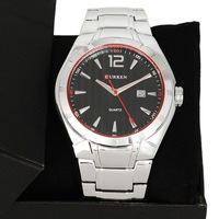 stainless steel select curren brand luxury business style watches