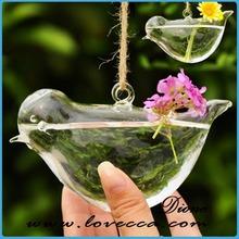 unique design hanging glass vase for wedding centerpiece hanging glass balls