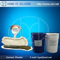 Low viscosity spray liquid rtv 2 silicone rubber