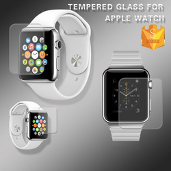 Full Screen Cover !! 0.2mm 9H Smart Watch Tempered glass screen protector for Apple Watch