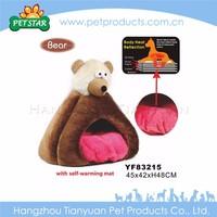 New soft plush small heat house pet