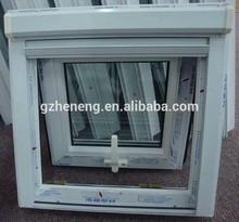Pvc vinyl window/,top hung window,top hinged window/PVC Awning Windows