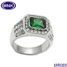Hotsale fashion emerald ring for men , men championship ring