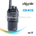 Longo - distância de comunicação de rádio com função de digitalização para esporte treinador CD-K16