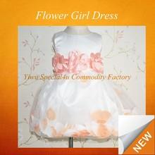 flower fancy dress costumes/flower girl net dresses/flower girl dress patterns SFUBD-507