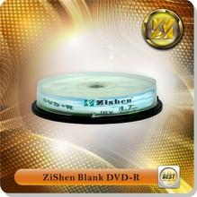 Manufacturing Dvdr Disc 120Mins 4.7Gb Cake Box 16X Dvd-R Blanks Replicate Dvd