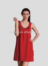 The merino wool women's sleeveless cute dress