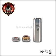 Moyuan Ecig Supplier Wholesale exgo w3 atomizer HCigar 26650 Helmsman Mod Hobo RDA Copper Excalibur Helmsman 26650 Mod