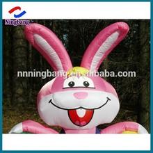 NB-ET2010 Ningbang funny inflatable lighting led rabbit for easter holiday